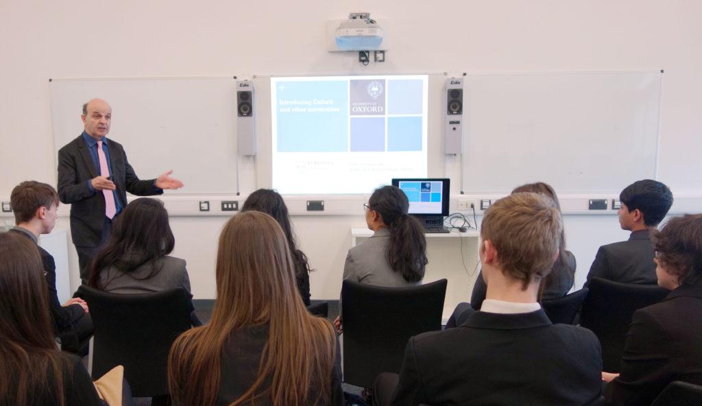 Landau Forte Students at Oxbridge Workshop